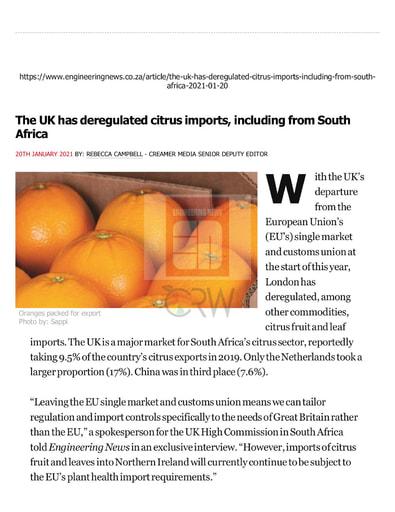 Engineering News (20/01/21)