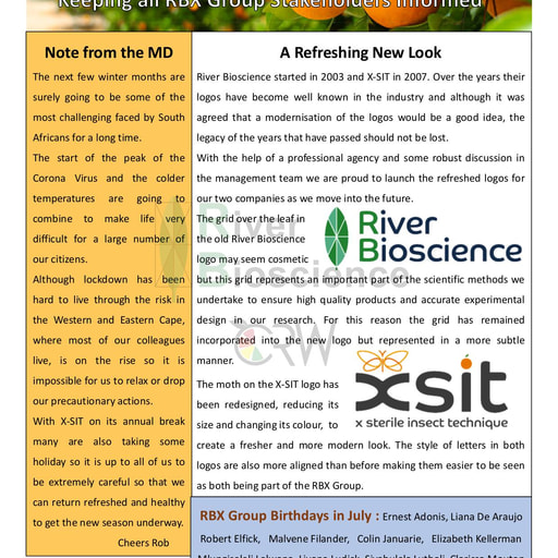 River Bioscience Bio-Blog (July 2020)