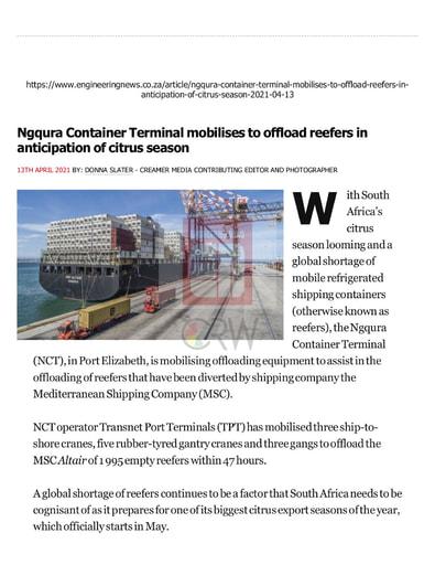 Engineering News (13/04/21)